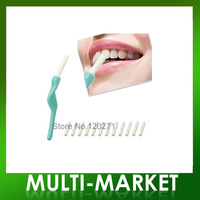 Promotion!!Whiten Teeth Tooth Pen Dental Peeling Stick + 25 Pcs Eraser /color box free Dropshipping 1set=25pcs