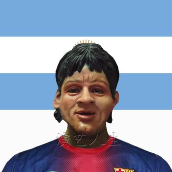 Messi latex mask