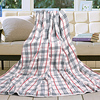 190X200cm New arrival quality classic plaid towel double blanket adult air conditioning blanket 1500g/pc(China (Mainland))