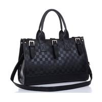 2013 fashion strap decoration buckle lady bag one shoulder cross-body portable women's handbag free shipping