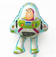 New styles !!! 10pcs/lots  wholesales Buzz light year foil balloon , Toy store balloon , 50X75cm