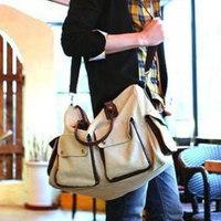 best sale promotion high grade handbag for women ladies' casual large capacity preppy style canvas bag shoulder school bags