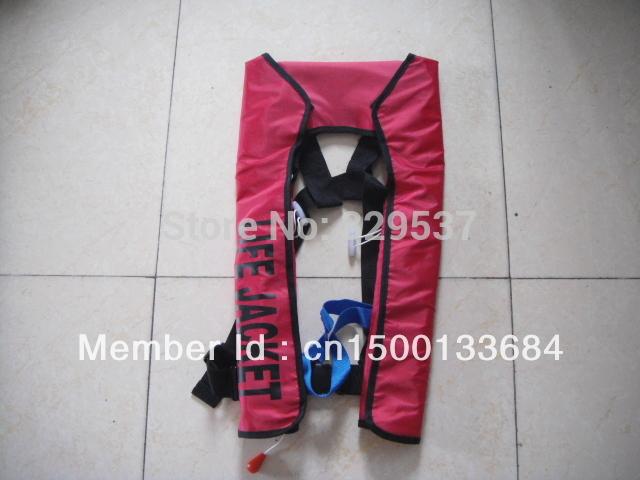 Hot Sell domestic manual type 150N inflatable life jacket Free Shipping(China (Mainland))