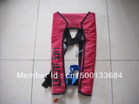 Hot Sell domestic  manual type 150N inflatable life jacket Free Shipping