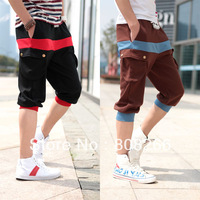 free shipping 2013 new fashion shorts for men casual mens capri pants  M/L/XL/XXL