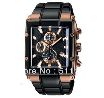 Brand Waterproof Quartz watch NEW EFX-501SP-1AV sports sports watch timer+original Box 3 years warranty Wholesale and Retail