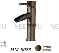 Antique Sinks Faucet Bamboo Shape for bathroom Basin tap HM8023 mixer Free shipping (Factory direct supply)