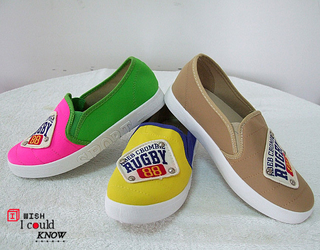 Shoes Web candy color vintage shoes casual single shoes shallow mouth canvas female(China (Mainland))