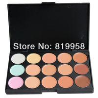 High Quality!! Wholesale 15 Colors Makeup Camouflage Concealer Palette