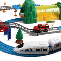 Train track toy electric crh battery