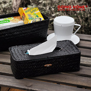 Handmade vareck long design car tissue box tissue pumping paper box table napkin box 4(China (Mainland))