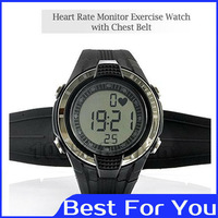 Wireless Heart Rate Monitor Sport Fitness Watch With Chest Strap,Outdoor Cycling Free Shipping