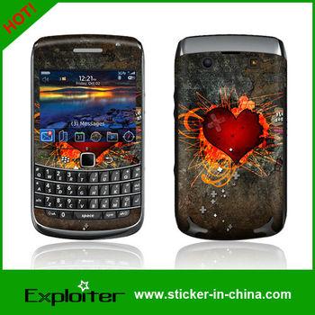 HELLO KITTY 2pcs/lot Vinyl full body Skin Sticker For Blackberry bold 9700 cell phone skin decal,accept custom LOGO