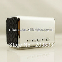 Free shipping + New Music Portable Mini USB Micro SD/TF Mp3 Player digital Speaker& computer speaker
