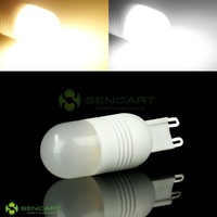 G9  3500K 6-SMD 5060 LED Warm White/ white Lights Ceramic Bulb Light 220V 240V
