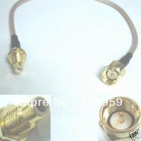 Antenna manufacturer+SMA Male to SMC Male Plug Nut Bulkhead RG316 Pigtail