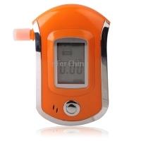 Professional 3 digital LCD Display Breath Alcohol Tester Analyzer Orange Free Shipping