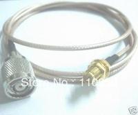 Antenna manufacturer+RP TNC Male Jack to RP SMA Female Nut Bulkhead RG316 1M