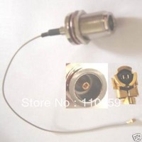 Antenna manufacturer+N Female Nut Bulkhead Straight to IPX U Fi 1 13 Pigtail