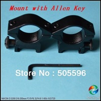 1PC 25.4mm Aluminum Alloy Scope Mount for Rifle