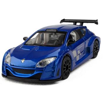 Renault megane car model cars sound and light alloy car models