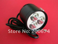 Cheap shipping 18months warranty !6V or 12V /9W bike front light , bike spot light ,Motorcycle LED spot Light