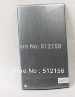 Metal Brush Pattern Water Transfer Printing Film Transparent Film - Metallic silver wire GWA213-1 WIDTH100CM