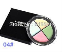 Free Shipping!! Hot Sale Mineral Palette 4 Colors Concealer Palette 4FG-04#