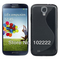100pcs /LOT, S-Line TPU Soft Gel Case Cover For Samsung Galaxy  S4 i9500