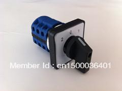 Interruptor giratorio selector lw37-20 / 3 20a 500 v interruptor de cambio Universal combinación de 3 posiciones 3 nudos