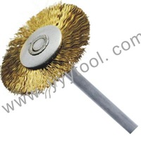 Brass Wire mounted brush for jewelry polishing,100pcs/package