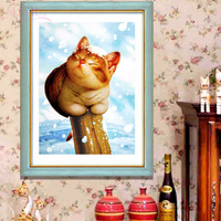 3d print cross stitch kit small animal cartoon