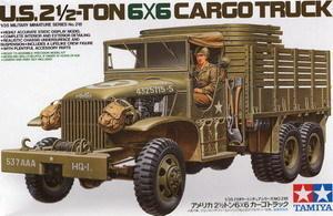 Tamiya model 35218 1/35 US 2,1/2-TON 6x6 Cargo Truck plastic model kit(China (Mainland))