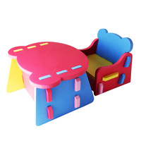 Middlebury baby eva plastic small tables and chairs child patchwork small tables and chairs set eco-friendly free shipping