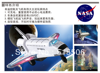 Hot Sale !! 4CH remote control music & flashing light spaceship toy,RC electric airliner toy,best gifts for children,free ship