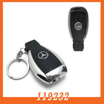 Free shipping benz Car Key shape Mini DV hidden camcorder camera With Video recorder Recording And Voice Recording