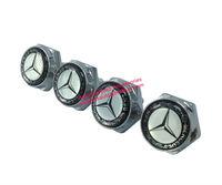 License Plate Frame Bolt Screw Set (4) Emblem Seta For Mercedes Benz Free Shiping High Quality Wholesale