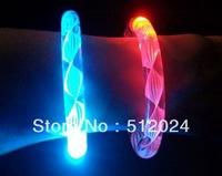 party or gift celebration festivities ceremony LED bracelets,night glow sticks,LED toys for olympic games,free shipping(100pcs)