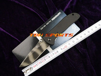 SANRENMU GB9-707 8Cr13MoV,57HRC,Tiger Stripes Folding Camping Knife+Free shipping(SKU12010029)