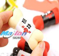 Free Shipping  1lot of 30 PCS / korean stationer  kawaii  Lovely bones eraser