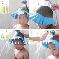 5pcs Adjustable Baby Kid Safety Shampoo Wash Hair Shield Hat Bath Shower Cap wholesale Dropshipping