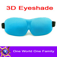 3D Sleeping Eyeshade Comfortable Seamless Patch Rest Mask Colours Three-dimensional Blinder Mix Order Free Shipping