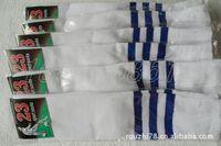 The quality white stripes soccer socks wholesale unisex sports and leisure longituba multicolor football socks wholesale