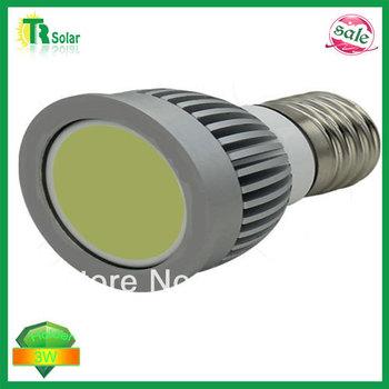 led spot light 3W LED cup lamp, E27 3W COB spot light, 120 degree angle, 85-265V AC Free shipping (10 pieces/a lot)