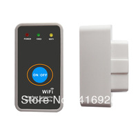 2013 new WIFI ELM327 Wireless OBD2 Auto Scanner Adapter Scan Tool for iPhone ipad iPod