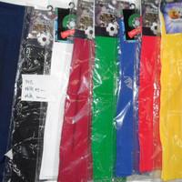 Special 8-color solid color striped soccer socks men training football must barreled football socks
