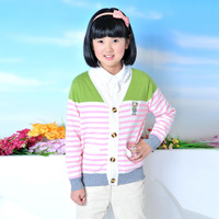 Ts-823-1 child sweater thermal basic shirt girls clothing sweater bear pocket thermal