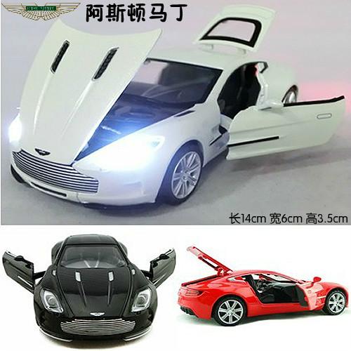 4 alloy car model/ wanbao aston martin one-77/ 4 door acoustooptical WARRIOR