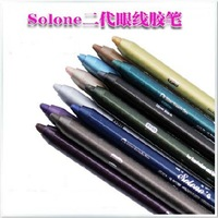 Professional Solone One Piece Multicolours Glitter Gel Eyeliner Sticker Eyeshadow Waterproof Design Eye Liner Beauty Makeup
