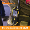 DHL EMS fast free shipping Original Runbo X1 Quad band walkie talkie Moblie Outdoor Phone Waterproof dustproof shockproof phone
